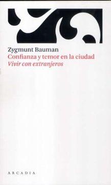 portada Confianza y temor en la ciudad (Paperback)
