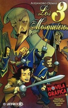portada Tres Mosqueteros, Los. Novela Grafica