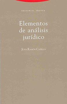 portada Elementos de Analisis Juridicos