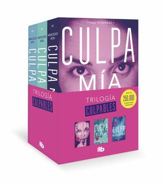 portada Trilogía Culpables (Pack Con: Culpa mía  Culpa Tuya  Culpa Nuestra)