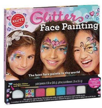 portada Glitter Face Painting (Klutz)