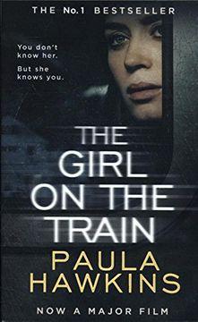 portada The Girl on the Train (libro en inglés)