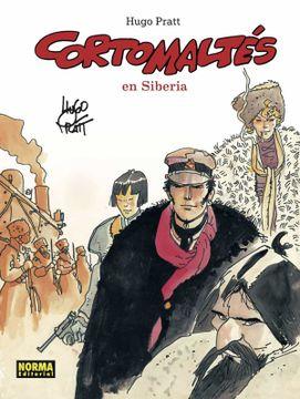portada Corto Maltes en Siberia (Color)