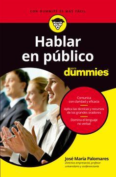 portada Hablar en Público Para Dummies