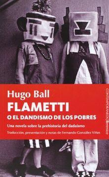 portada Flametti o el Dandismo de los Pobres
