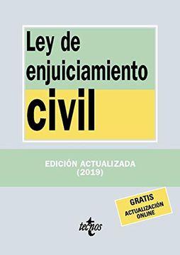 portada Ley de Enjuiciamiento Civil