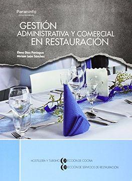 portada Gestión Administrativa y Comercial en Restauración