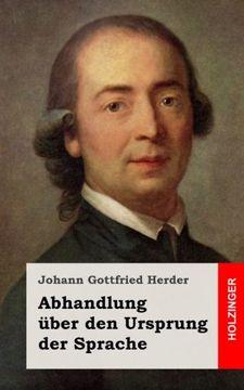 portada Abhandlung über den Ursprung der Sprache (German Edition)