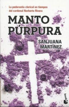 portada Manto Purpura. Booket