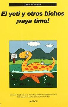 portada El yeti y otros bichos ¡Vaya timo!