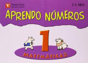 portada Aprendo Numeros. Cuaderno 1 (2 a 3 Años) Vicens Vives Ediciones