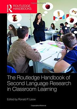 portada The Routledge Handbook of Second Language Research in Classroom Learning (Routledge Handbooks in Applied Linguistics) (libro en Inglés)