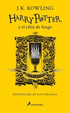 portada Harry Potter y el Cáliz de Fuego (Edición Hufflepuff 20 Aniversario)