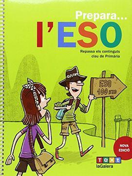 portada Prepara l ESO (Paperback) (libro en catalán)
