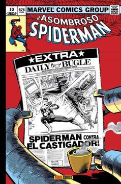 portada El Asombroso Spiderman 10:  Heroe o Amenaza? Marvel Gold