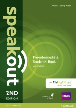 portada Speakout Pre-Intermediate 2nd Edition Students' Book With Dvd-Rom and Myenglishlab Access Code Pack (libro en inglés)