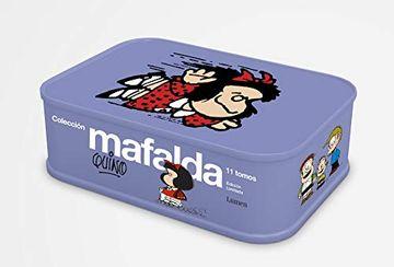 portada Colección Mafalda: 11 Tomos en una Lata (Edición Limitada)
