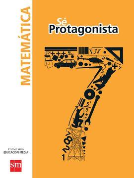portada Set Matemática 7º Básico (sé Protagonista) (Sm)