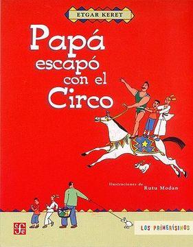 portada Papá Escapó con el Circo