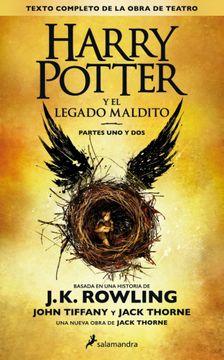portada Harry Potter y el Legado Maldito