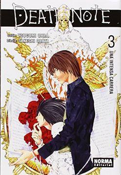 portada Death Note 3 (Shonen Manga - Death Note)