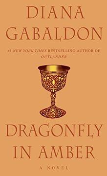 portada Dragonfly in Amber (libro en Inglés)