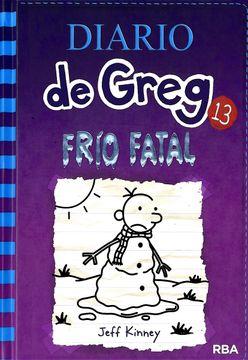 portada Diario de Greg 13. Frío Fatal