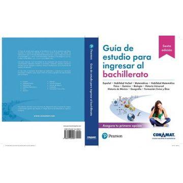 portada Guia de Estudio Para Ingresar al Bachillerato (Conamat)