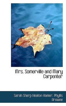 portada mrs. somerville and mary carpenter