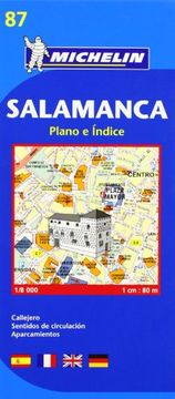 portada Salamanca - Michelin City Plan 87: City Plans (Michelin City Plans)