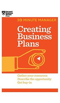 portada Creating Business Plans (Hbr 20-Minute Manager Series) (libro en Inglés)