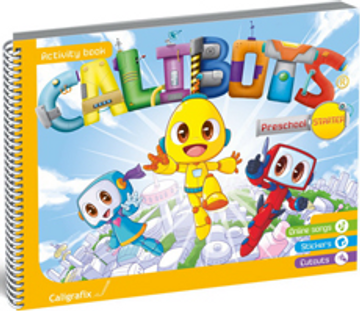 portada Calibots Starter Preschool (libro en Inglés)