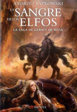 portada La Sangre de los Elfos