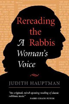 portada rereading the rabbis: a woman's voice