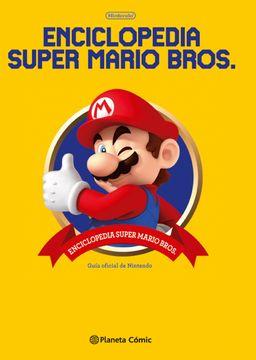 portada Enciclopedia Super Mario Bros 30ª Aniversario