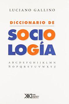 portada Diccionario de Sociologia