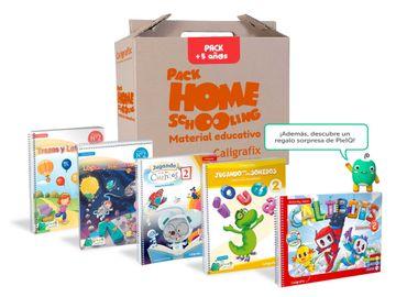 portada Pack Homeschooling Kínder: A Partir de los 5 Años