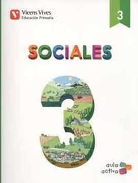 portada Sociales 3 + Castilla y Leon sep (Aula Activa): Sociales 3. L. Alumno y Separata Castilla y León Aula Activa: 000002 - 9788468220604