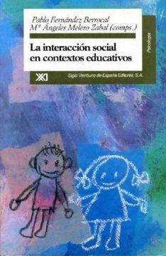 portada Interaccion Social en Contextos Educativos