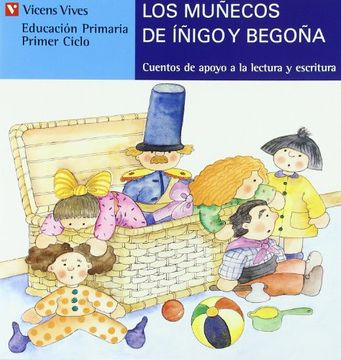 portada Los Muñecos de Iñigo y Begoña. Serie Azul. Letra de Molde: 16 (Cuentos de Apoyo. Serie Azul) - 9788431648671