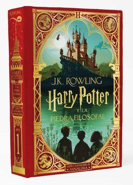 portada Harry Potter y la Piedra Filosofal (Ed. Minalima)