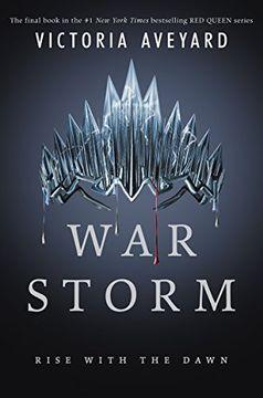 portada War Storm (Red Queen) (libro en Inglés)