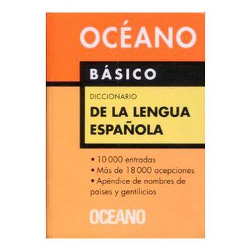 portada Diccionario Oceano Basico de la Lengua Española