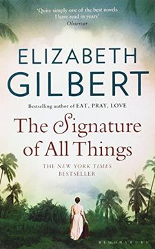 portada The Signature of all Things (libro en inglés)