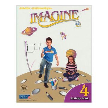 portada Imagine 2. 0 Level 4 Activity Book (Cod. 162669) (libro en Inglés)