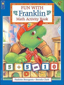 portada fun with franklin: math activity book