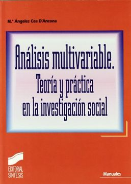 portada Analsis Multivariable. Teoría Y Práctica