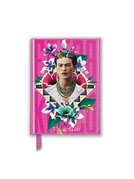 portada Frida Kahlo Pink (Foiled Pocket Journal) (Flame Tree Pocket Books) (libro en Inglés)