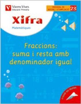 portada Xifra Quadern 23. Matematiques. Reforç I Ampliacio