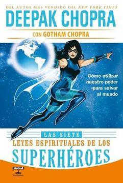 portada Las Siete Leyes Espirituales de los Superheroes